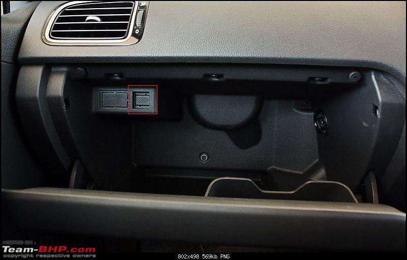 VW Polo GT TDI ownership log. EDIT: 3 years and 82,000 km up, Bilstein B6 installed!-glove-box-1.png