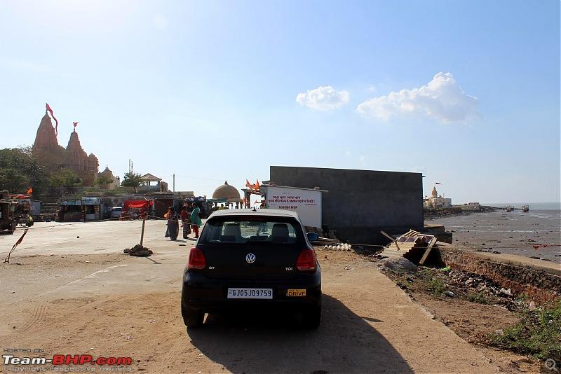 VW Polo GT TDI ownership log. EDIT: 1.05L km up + DIY servicing!-parked-koteshwar-temple.jpg