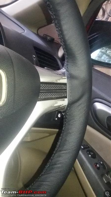 Honda Civic Independence : CNG'd. EDIT: 90,000 km up!-4_steering_finish.jpg