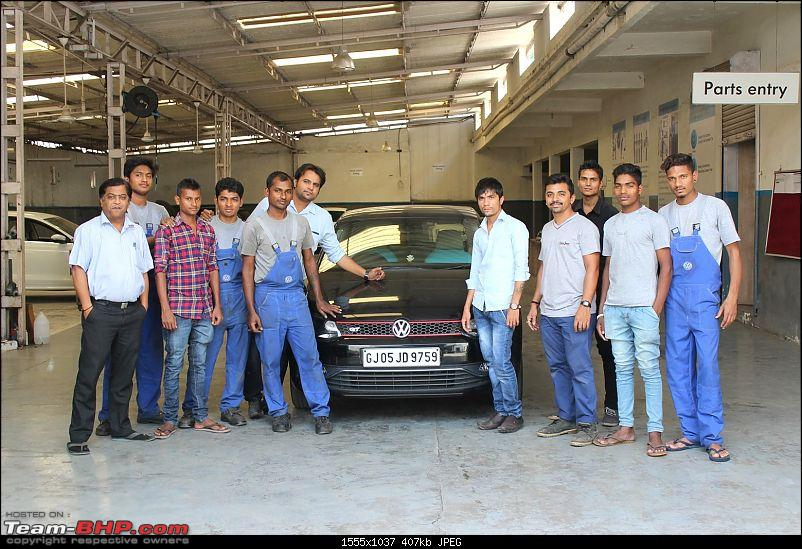 VW Polo GT TDI ownership log. EDIT: 3 years and 82,000 km up, Bilstein B6 installed!-vw-navsari-service-team.jpg