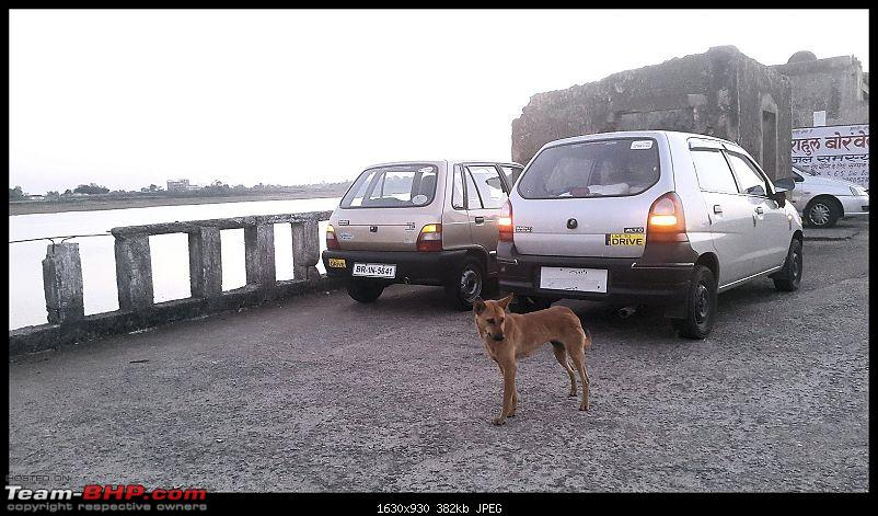 The love of my life - A 2000 Maruti 800 DX 5-Speed. EDIT: Gets export model features on Pg 27-20150305_180121.jpg