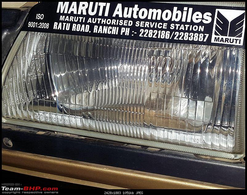 The love of my life - A 2000 Maruti 800 DX 5-Speed. EDIT: Gets export model features on Pg 27-20160111_171237.jpg