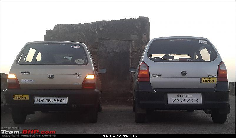 The love of my life - A 2000 Maruti 800 DX 5-Speed. EDIT: Gets export model features on Pg 27-20150305_180035.jpg