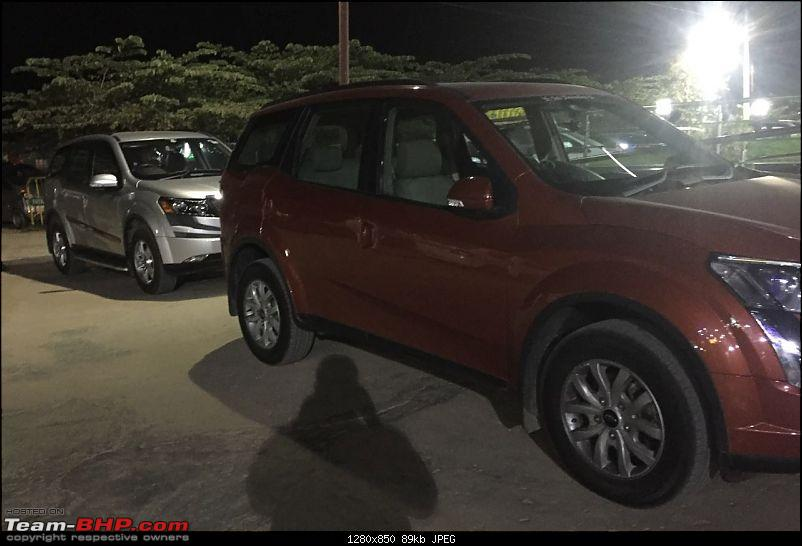 Ownership tales of the Orange Cheetah - 2015 Mahindra XUV5OO W10 FWD, 60000 km up-meet.jpg
