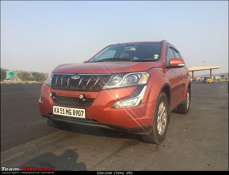 Ownership tales of Orange Cheetah, my 2015 Mahindra XUV5OO W10 FWD - 140,000 km and going strong!-img_6226.jpg