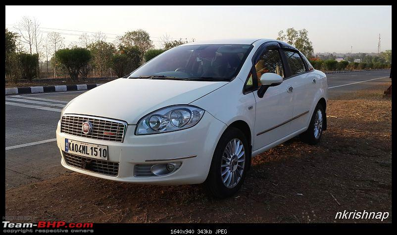 Petrol Hatch to Diesel Sedan - Fiat Linea - Now Wolfed-20160424_064948.jpg