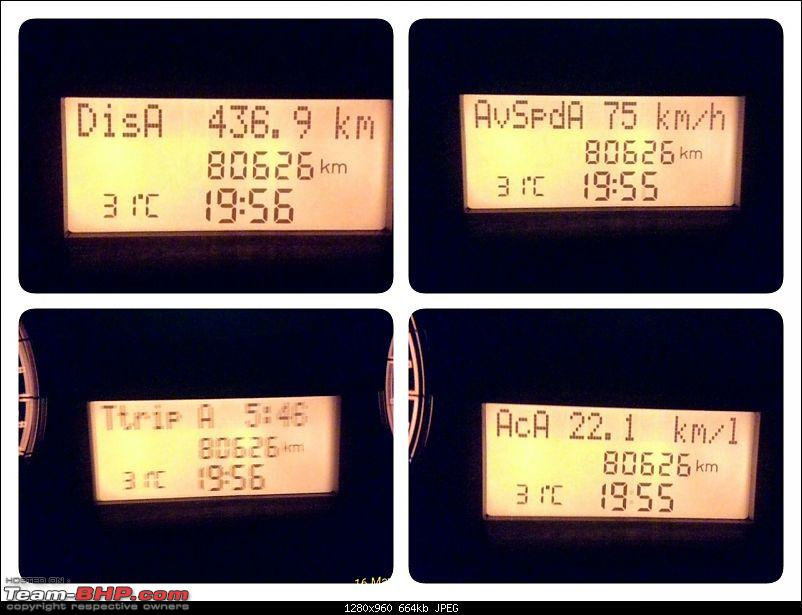 Code6'd Fiat Linea MJD: 100,000 kms & counting!-20160516_211244.jpg
