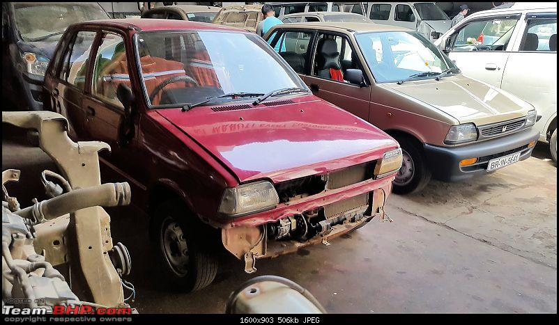 The love of my life - A 2000 Maruti 800 DX 5-Speed. EDIT: Gets export model features on Pg 27-6.jpg