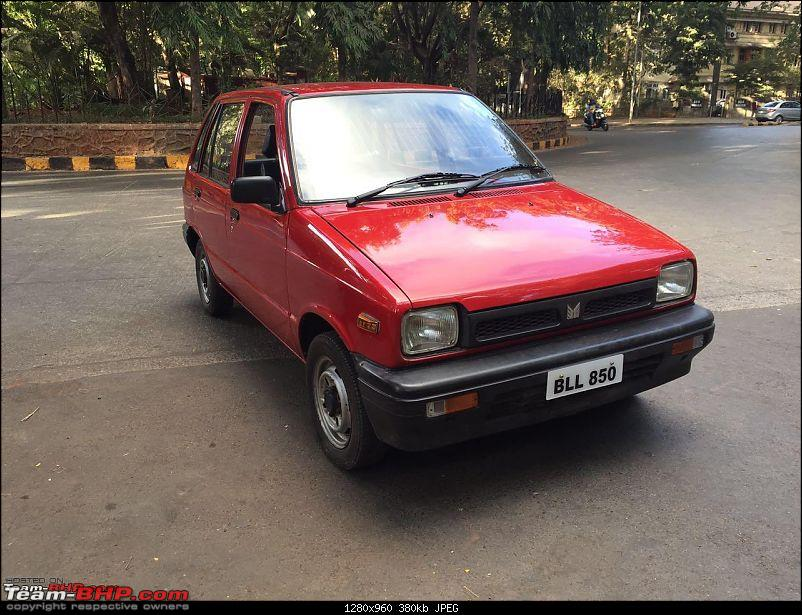 The love of my life - A 2000 Maruti 800 DX 5-Speed. EDIT: Gets export model features on Pg 27-img_6277.jpg