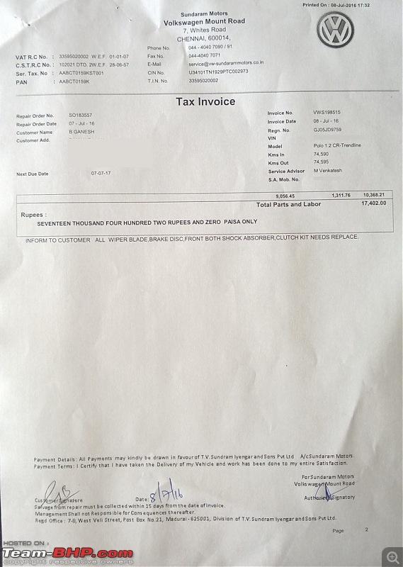 VW Polo GT TDI ownership log. EDIT: 87,000 km up!-invoice2.jpg