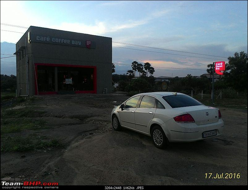 Code6'd Fiat Linea MJD: 100,000 kms & counting!-trichyccd.jpg