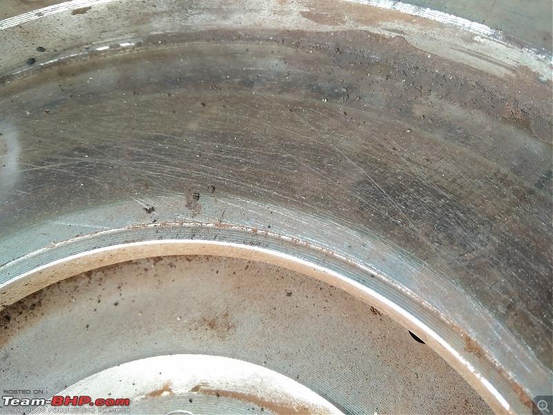 The story of a Blue Streak a.k.a Maruti Swift ZDi (Torque Blue). EDIT: 90,000 kms up-old-flywheel-sureface.jpg