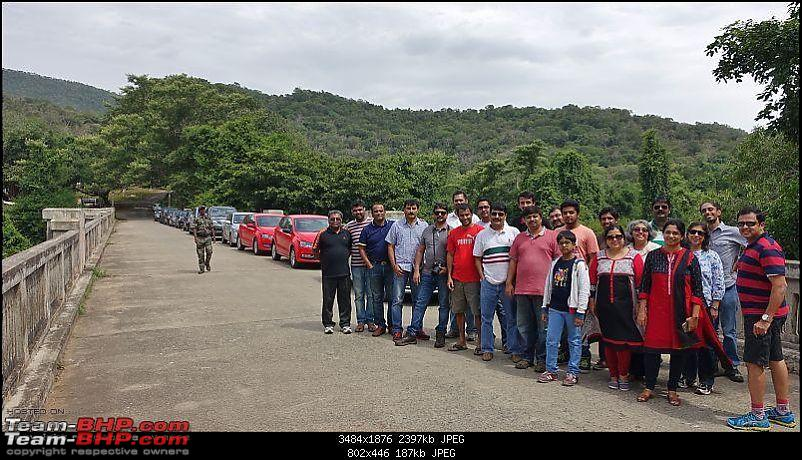 The Silver Cougar - Mahindra XUV5OO W8! EDIT: Anniversary milestone of 30k km-group.jpg