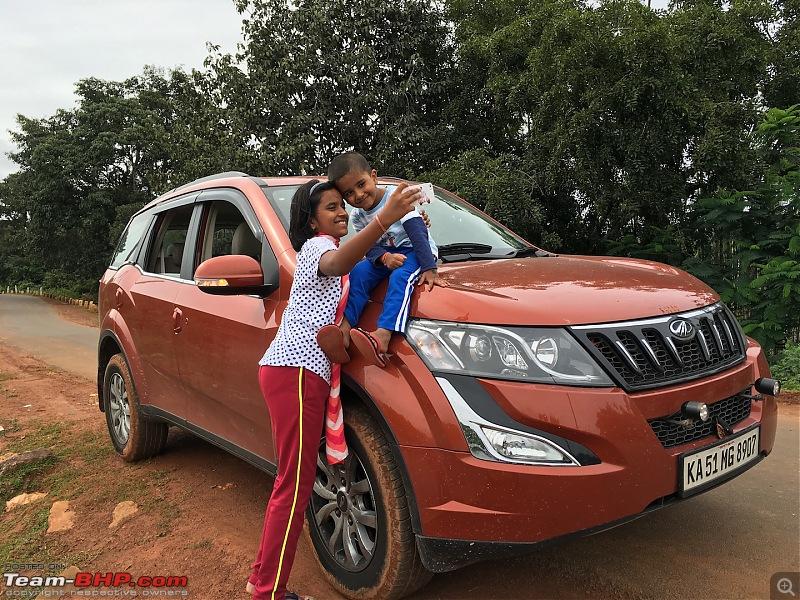 Ownership Tales - The Orange Cheetah! 2015 Mahindra XUV500 W10 FWD-img_8413.jpg