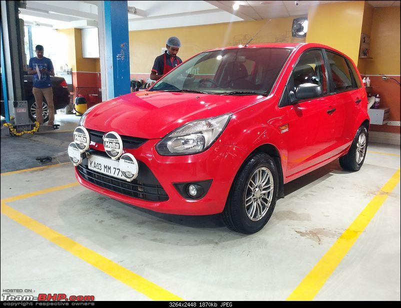Long term report - Ford Figo 1.2 - 40,000 kms up!-img_20161011_123159.jpg