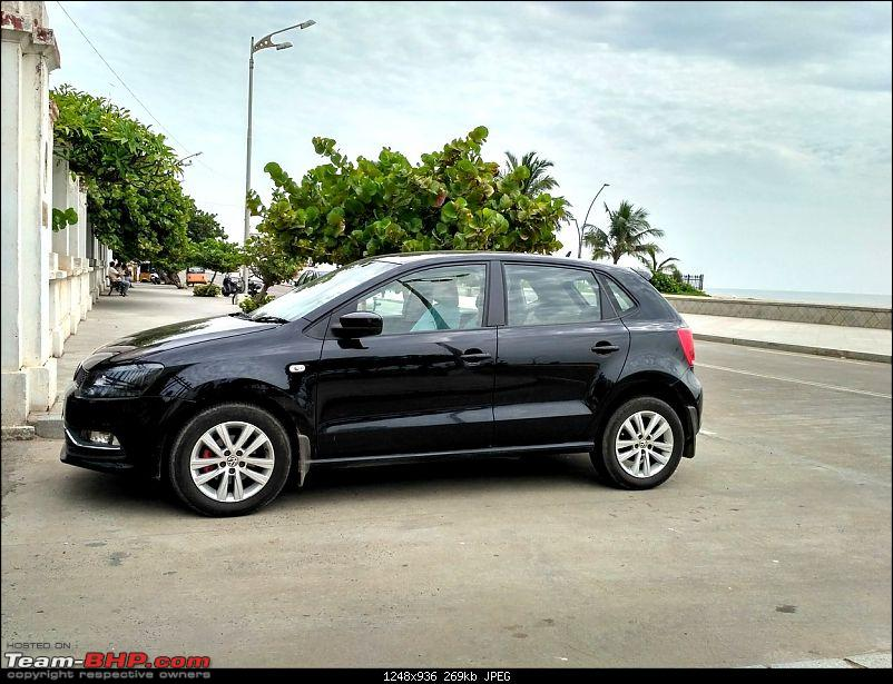 VW Polo GT TDI ownership log. EDIT: 4 years and 1,10,000 km up!-parked-besides-beach.jpg