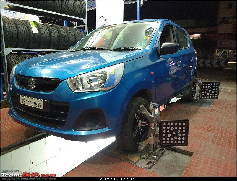 My Go-kart. Maruti Alto K10 VXi AMT, Cerulean Blue - 60,000 km update-alignment-32k.jpg