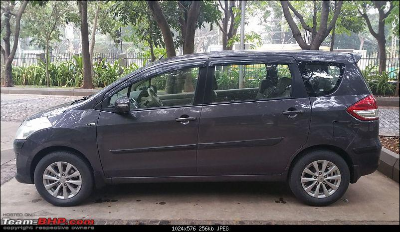 Tallboy welcomes longer companion: Maruti Ertiga VDi - 115,000 kms update-20161202_073942.jpg