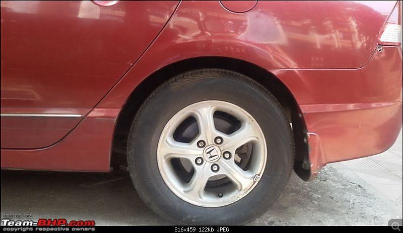 Honda Civic Independence : CNG'd. EDIT: 90,000 km up!-old_rear.jpg