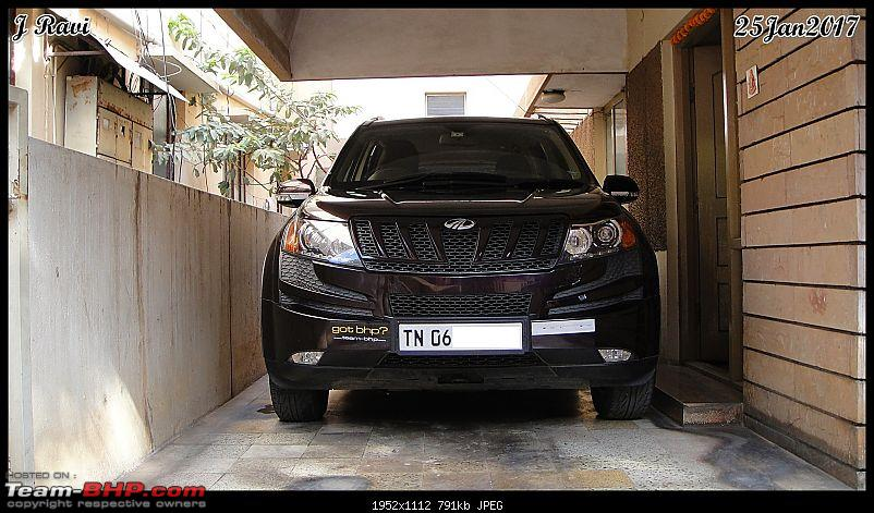 Mahindra XUV500 W8 FWD: My Pet Purple Cheetah-dsc07259.jpg