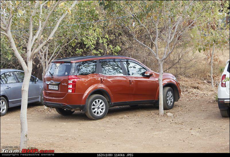 Ownership tales of Orange Cheetah, my 2015 Mahindra XUV5OO W10 FWD - 140,000 km and going strong!-jlrparking.jpg