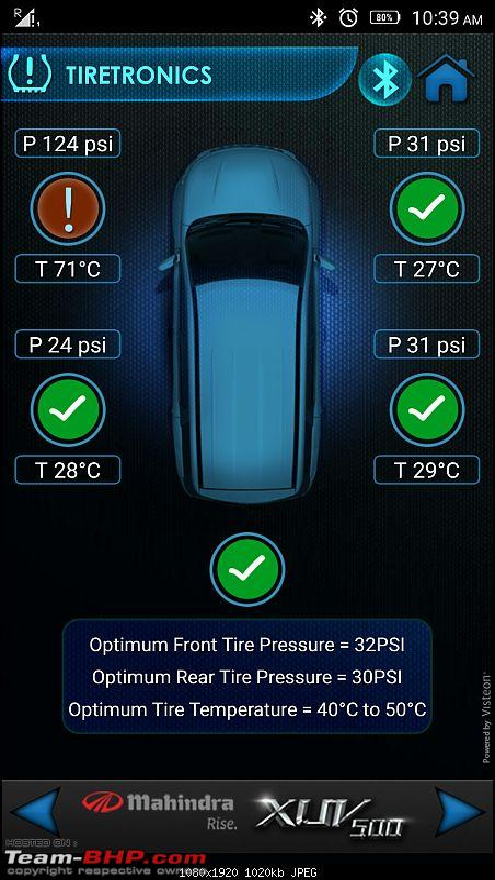 Optimus Prime - Tuscan Red Mahindra XUV5OO W8 ownership report-screenshot_20170121103944596.jpeg