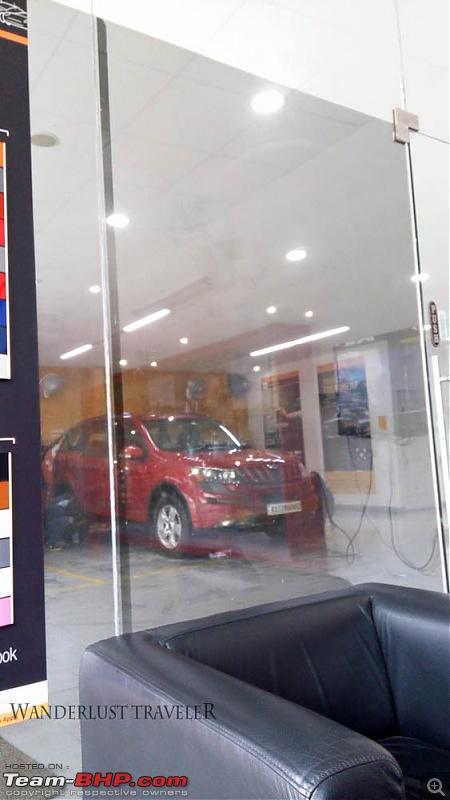 Optimus Prime - Tuscan Red Mahindra XUV5OO W8 ownership report-img_20170128_145447.jpg