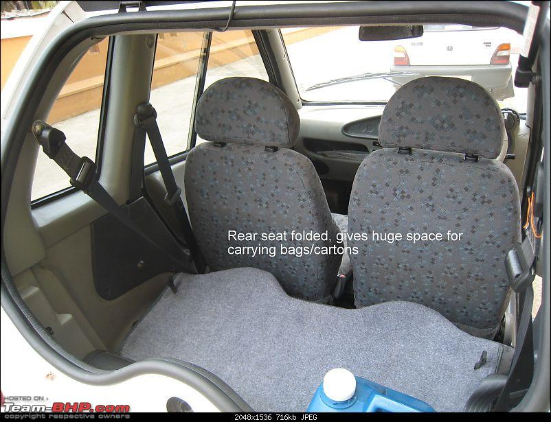 Reva-i 2007 ownership report, picture added Page 1-rear-seat-folded.jpg