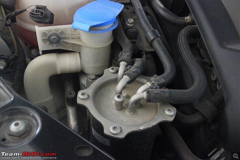 Our Silver Sprinter -  Volkswagen Jetta 2.0 TDI. EDIT: 40,000 km & new Michelin tyres-brake-pump.jpg