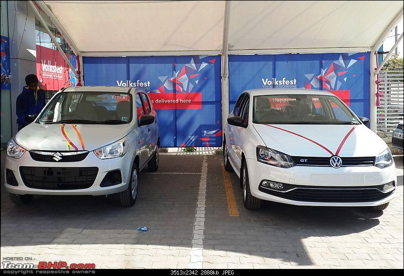 We Two, Ours Two - Alto K10 AMT for my wife, Polo GT TSI for me-20161224_135352.jpg