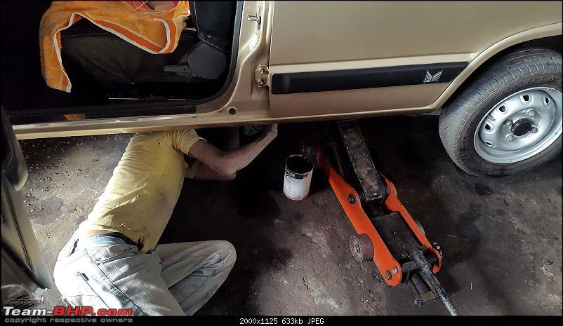 The love of my life - A 2000 Maruti 800 DX 5-Speed. EDIT: Gets export model features on Pg 27-20170425_161213.jpg