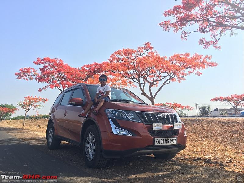 Ownership tales of the Orange Cheetah - 2015 Mahindra XUV5OO W10 FWD, 60000 km up-highway4.jpg