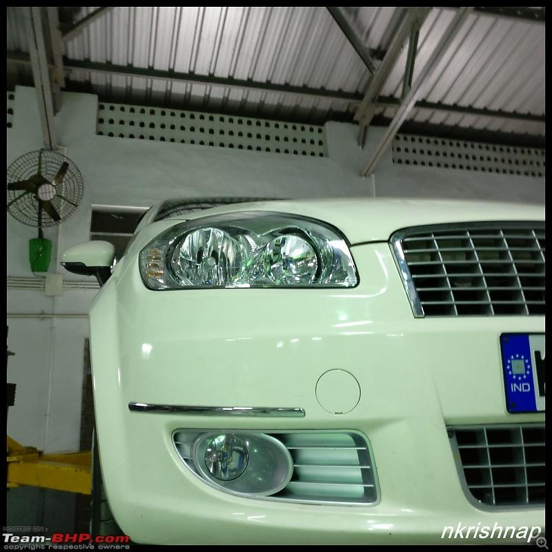Petrol Hatch to Diesel Sedan - Fiat Linea - Now Wolfed-new-headlights.jpg