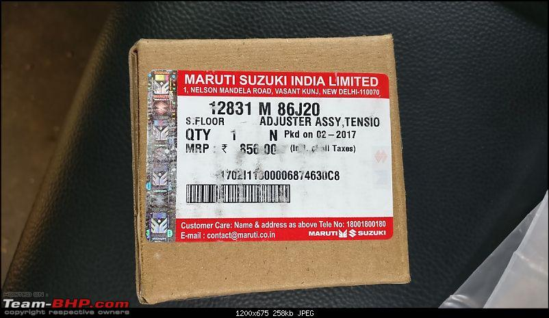 The story of a Blue Streak a.k.a Maruti Swift ZDi (Torque Blue). 1,20,000 km up & now sold-10.-timing-chain-adjuster.jpg