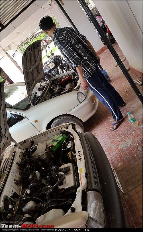 The love of my life - A 2000 Maruti 800 DX 5-Speed. EDIT: Gets export model features on Pg 27-20170611_135408.jpg
