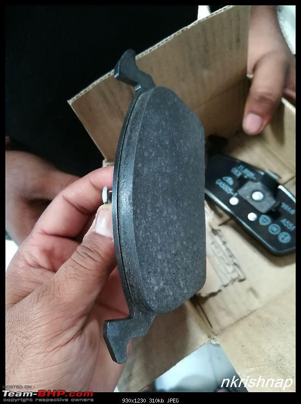 Petrol Hatch to Diesel Sedan - Fiat Linea - Now Wolfed-new-brake-pads.jpg