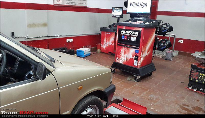 The love of my life - A 2000 Maruti 800 DX 5-Speed. EDIT: Gets export model features on Pg 27-20170831_174001.jpg