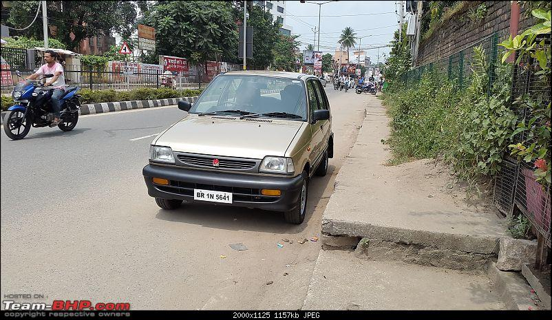 The love of my life - A 2000 Maruti 800 DX 5-Speed. EDIT: Gets export model features on Pg 27-20170917_120559.jpg