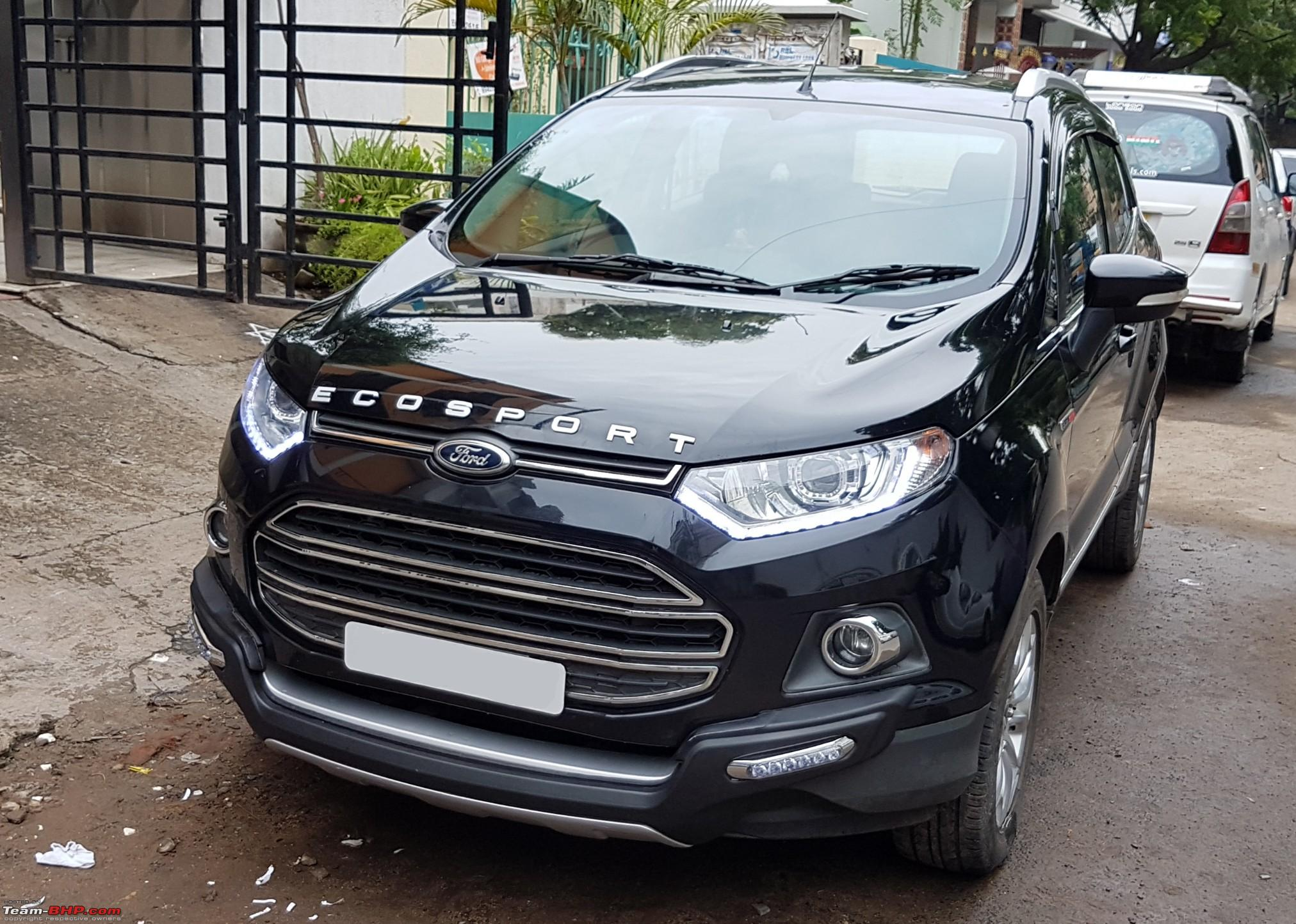 my silver ford ecosport titanium o tdci first delivered in india page 34 team bhp. Black Bedroom Furniture Sets. Home Design Ideas