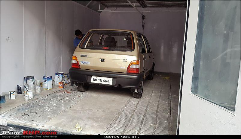 The love of my life - A 2000 Maruti 800 DX 5-Speed. EDIT: Gets export model features on Pg 27-20171002_102851.jpg