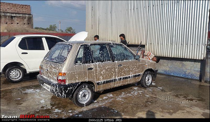 The love of my life - A 2000 Maruti 800 DX 5-Speed. EDIT: Gets export model features on Pg 27-20171106_150012.jpg