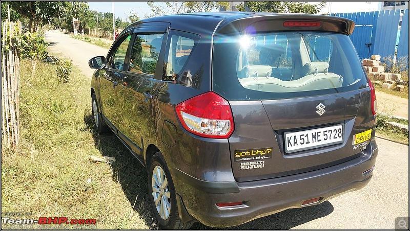 Tallboy welcomes longer companion: Maruti Ertiga VDi - The 200,000 Km update!-rear-side-profilebordermaker.jpg