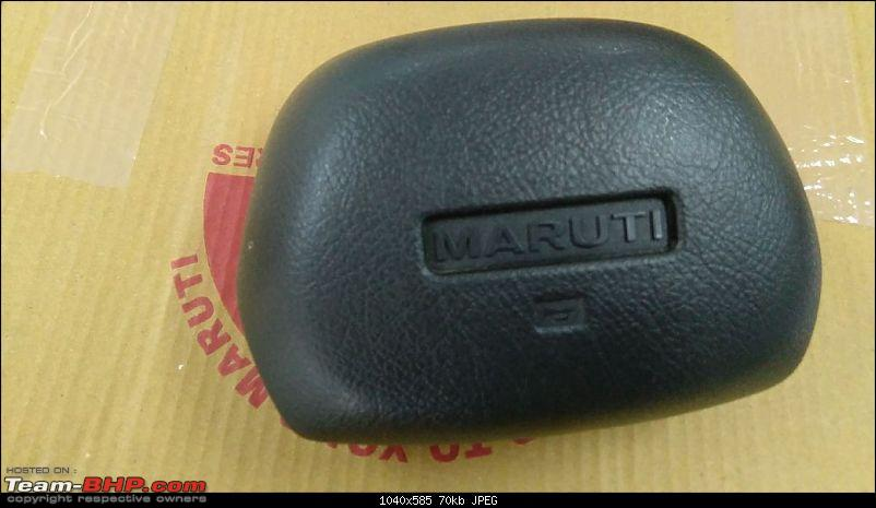 The love of my life - A 2000 Maruti 800 DX 5-Speed. EDIT: Gets export model features on Pg 27-img20171029wa0014.jpg