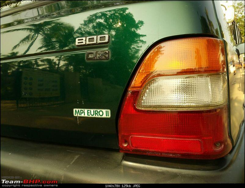 The love of my life - A 2000 Maruti 800 DX 5-Speed. EDIT: Gets export model features on Pg 27-img20170212wa0035.jpg