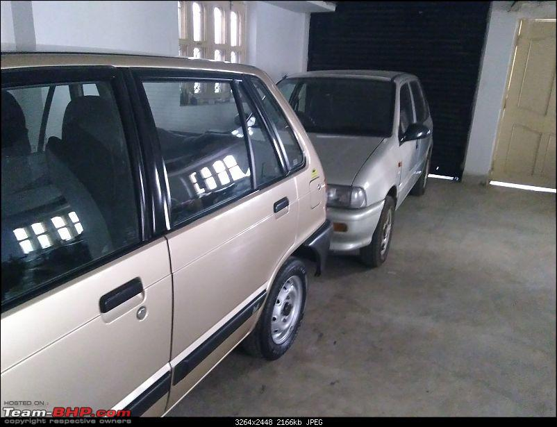 The love of my life - A 2000 Maruti 800 DX 5-Speed. EDIT: Gets export model features on Pg 27-img_20180117_151518643.jpg