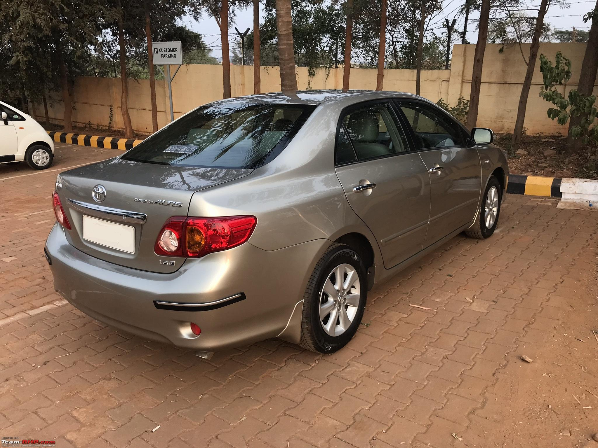 2009 toyota corolla altis 1 8 gl 74 000 kms 9th year ownership report page 21 team bhp. Black Bedroom Furniture Sets. Home Design Ideas