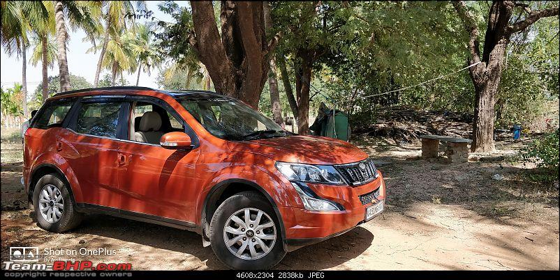 Ownership tales of Orange Cheetah, my 2015 Mahindra XUV5OO W10 FWD - 140,000 km and going strong!-img_20180218_120000.jpg