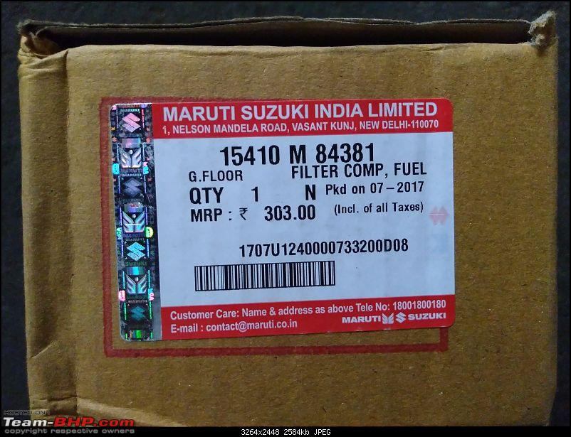 The love of my life - A 2000 Maruti 800 DX 5-Speed. EDIT: Gets export model features on Pg 27-img_20180507_154859742.jpg