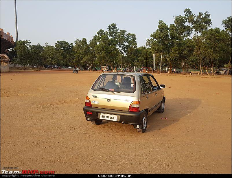 The love of my life - A 2000 Maruti 800 DX 5-Speed. EDIT: Gets export model features on Pg 27-20180517_171335.jpg