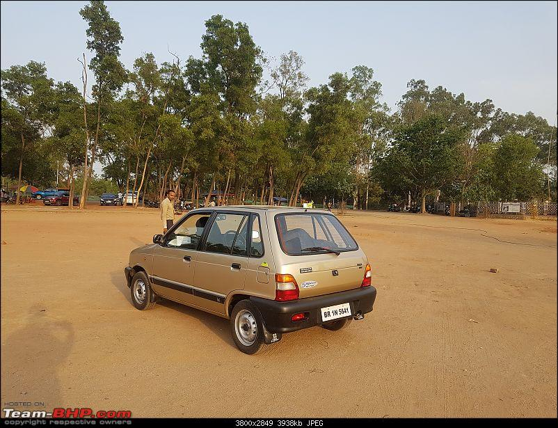 The love of my life - A 2000 Maruti 800 DX 5-Speed. EDIT: Gets export model features on Pg 27-20180517_171347.jpg